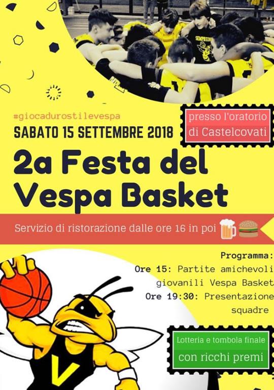 Festa del Vespa Basket a Castelcovati