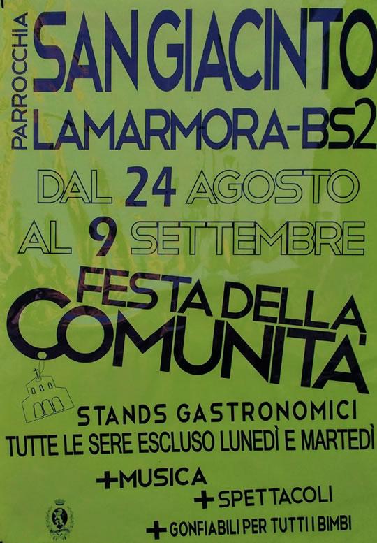 Festa della Comunità Lamarmora