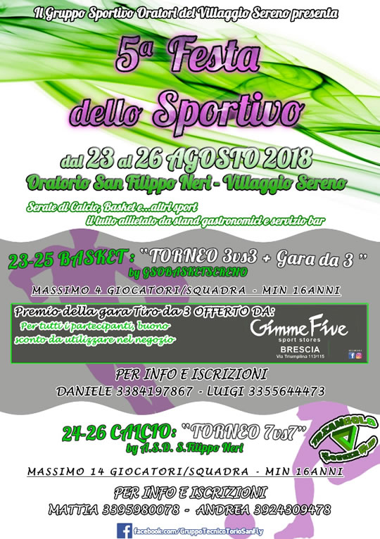 Festa dello Sportivo al  Villaggio Sereno
