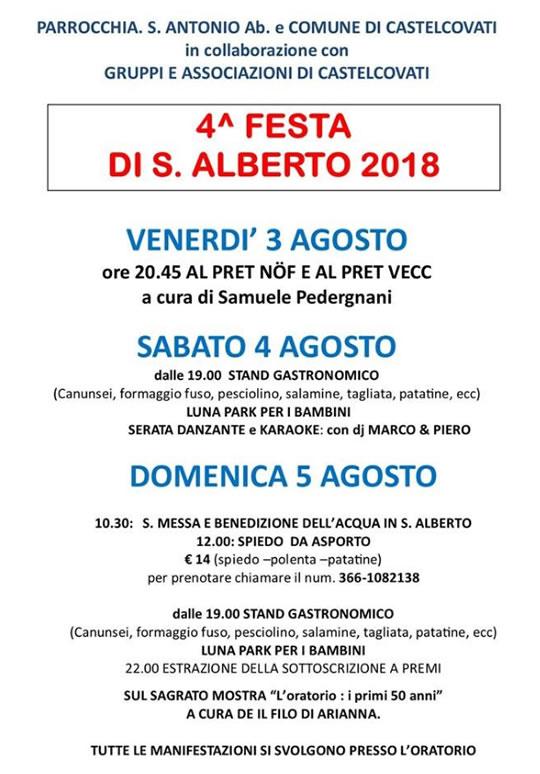 Festa di S. Alberto a Castelcovati