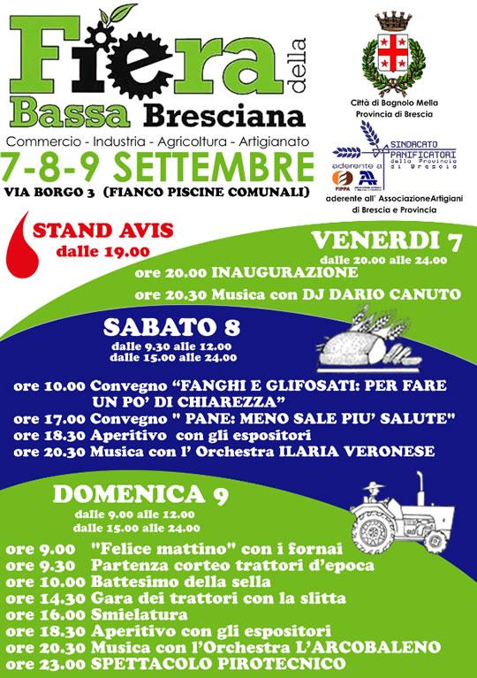 Fiera della Bassa Bresciana a Bagnolo Mella