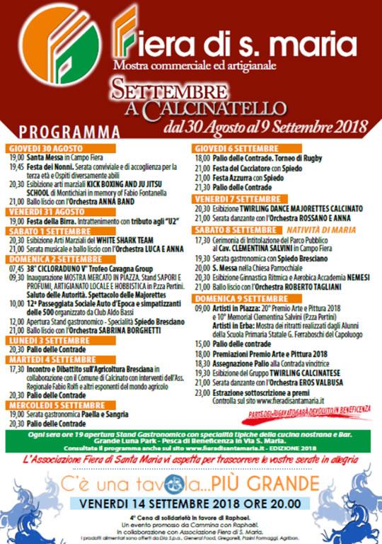 Fiera di Santa Maria a Calcinatello