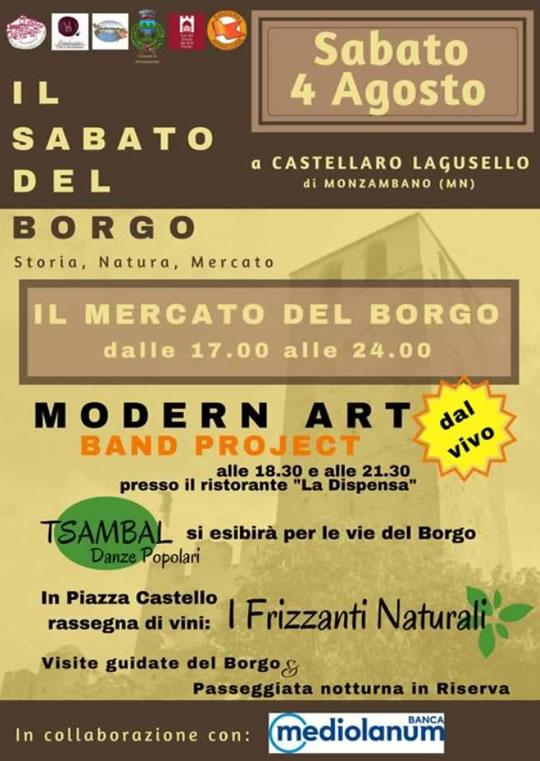 Il Mercato del Borgo a Castellaro Lagusello MN