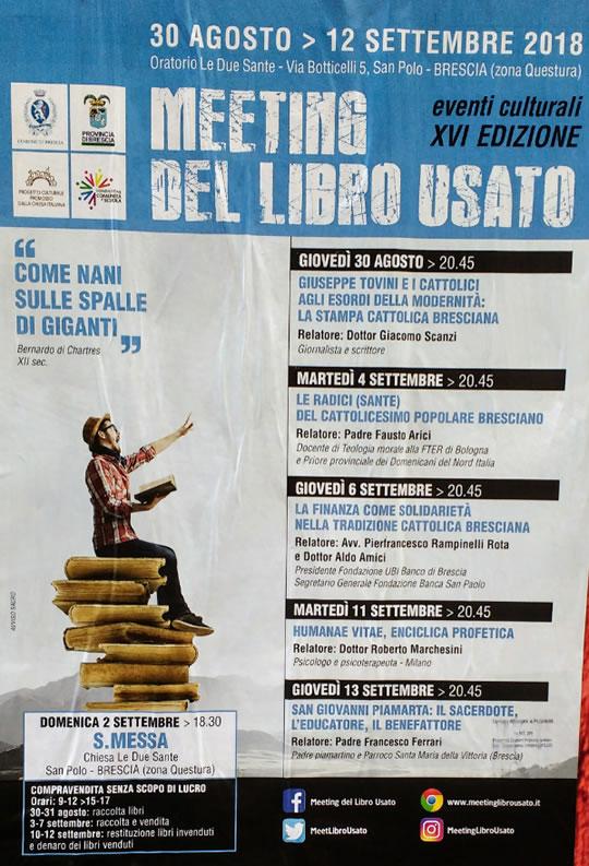 Meeting del Libro Usato a Brescia
