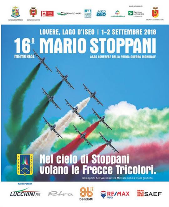 Nel Cielo di Stoppani volano le Frecce Tricolori a Lovere