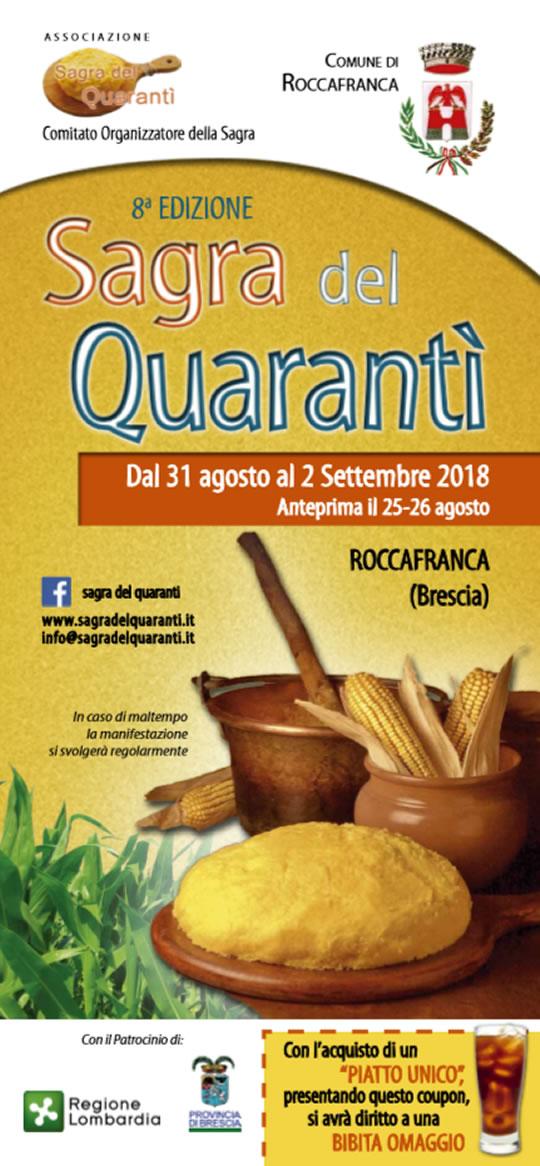 Sagra della Quaranti a Roccafranca