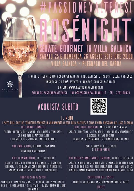 #passionevaltenesi Rosé Night a Puegnago dG