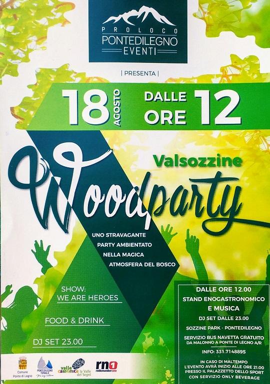 wood party a Valsozzine