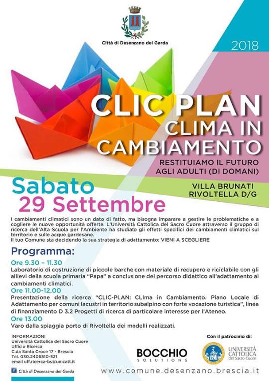 Clic Plan Clima in Cambiamento a Rivoltella dG