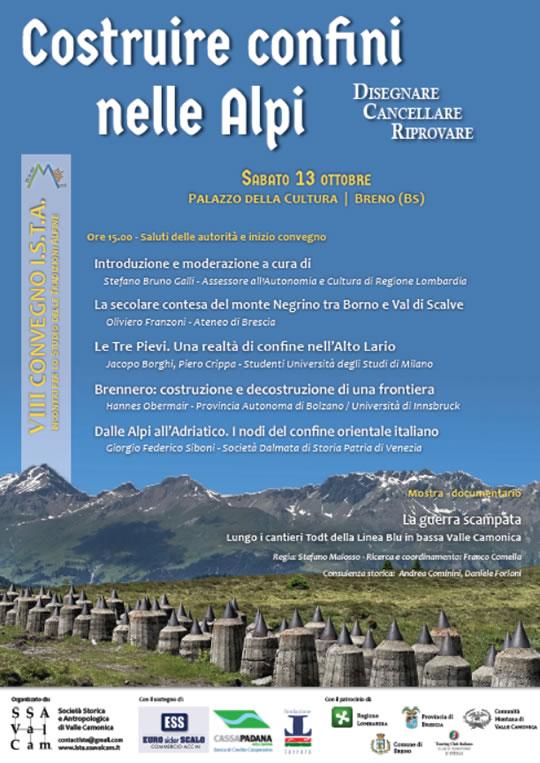Costruire Confini nelle Alpi a Breno