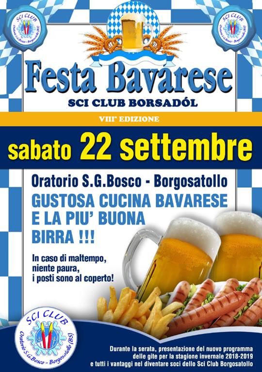 Festa Bavarese a Borgosatollo