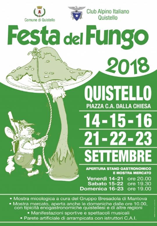 Festa del Fungo a Quistello MN