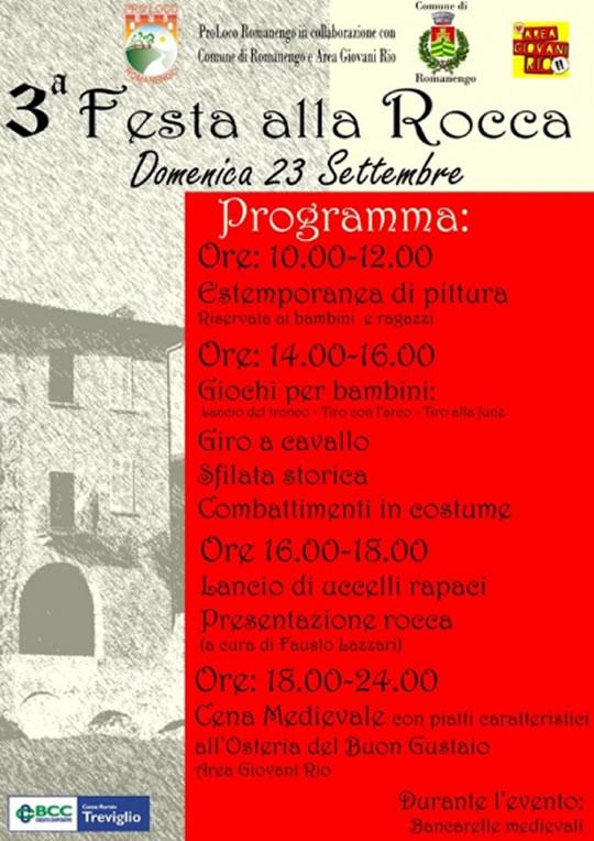 Festa della Rocca a Romanengo CR