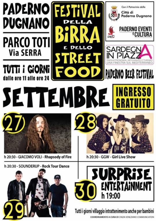 Festival della Birra e dello Street Food a Paderno Dugnano MI