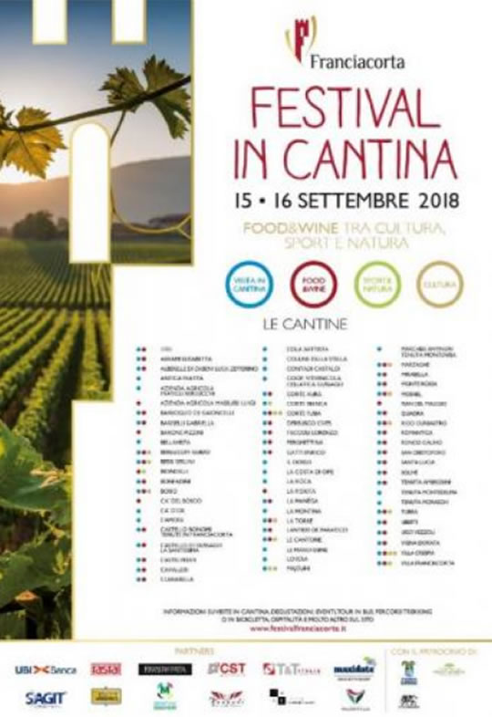 Festival in Cantina in Franciacorta