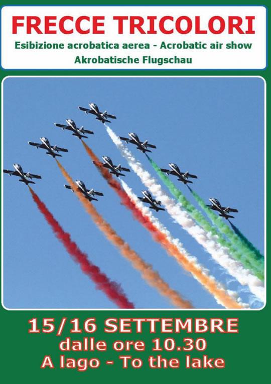 Frecce Tricolori sul Lago di Garda