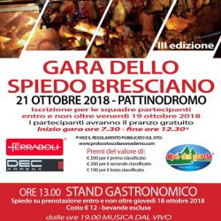 Gara dello Spiedo Bresciano a Toscolano