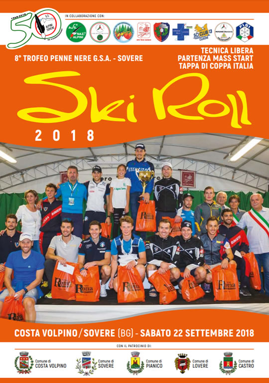 Gara di Ski Roll a Costa Volpino