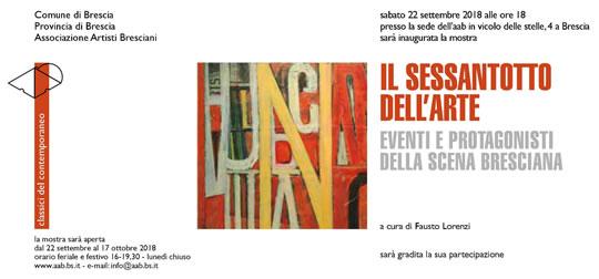 Il Sessantotto dell'Arte a Brescia
