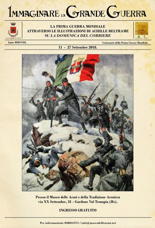 Immaginare la Grande Guerra a Gardone Val Trompia