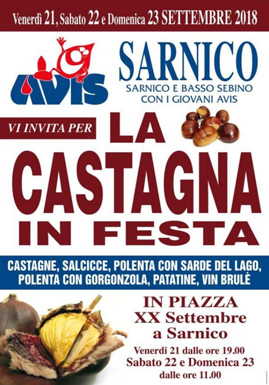 La Castagna in Festa a Sarnico