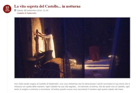 La Vita Segreta del Castello in Notturna a Padernello