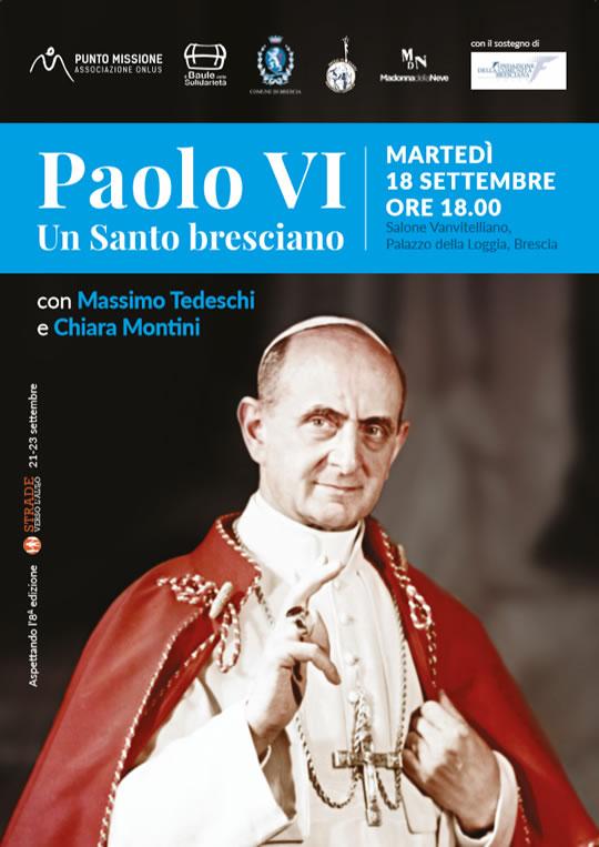 Paolo VI un Santo Bresciano