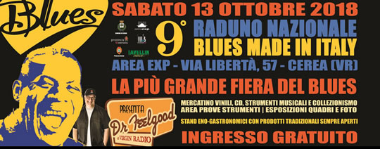Raduno Nazionale Blues Made in Italy a Cerea VR