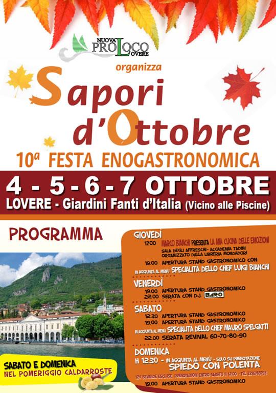 Sapori d'Ottobre a Lovere