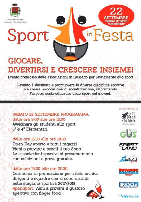 Sport in Festa a Gussago