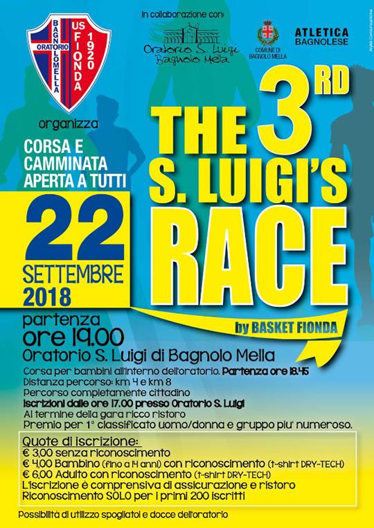 The 3rd s.Luigi's Race a Bagnolo Mella