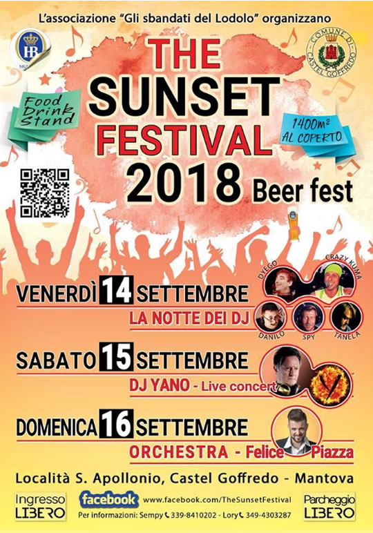 The Sunset Festival a Castel Goffredo MN