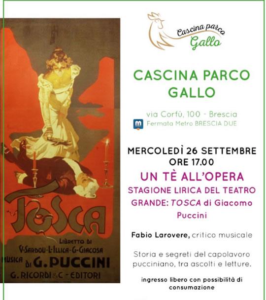 Un Tè all'Opera a Brescia