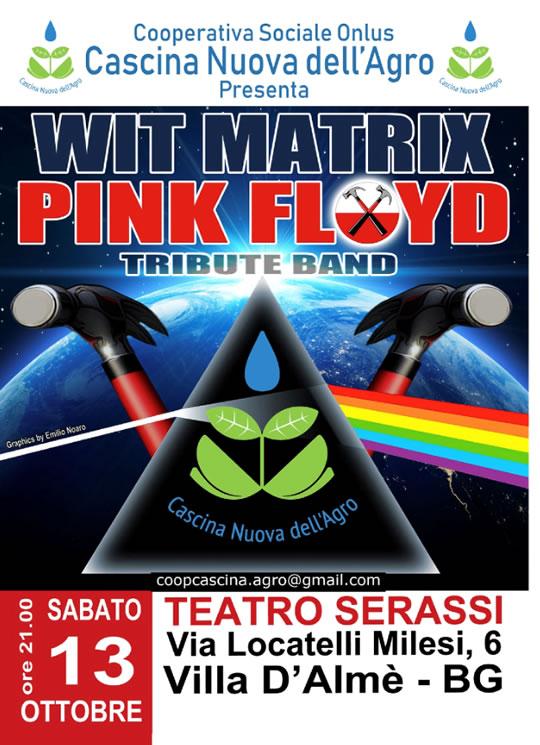 Wit Matrix Tribute Pink Floyd a Villa D'Almè BG