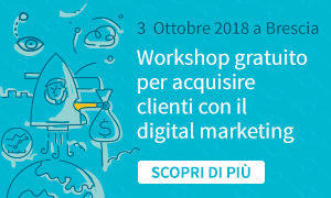 Corso gratuito a Brescia di marketing digitale per aziende e professionisti