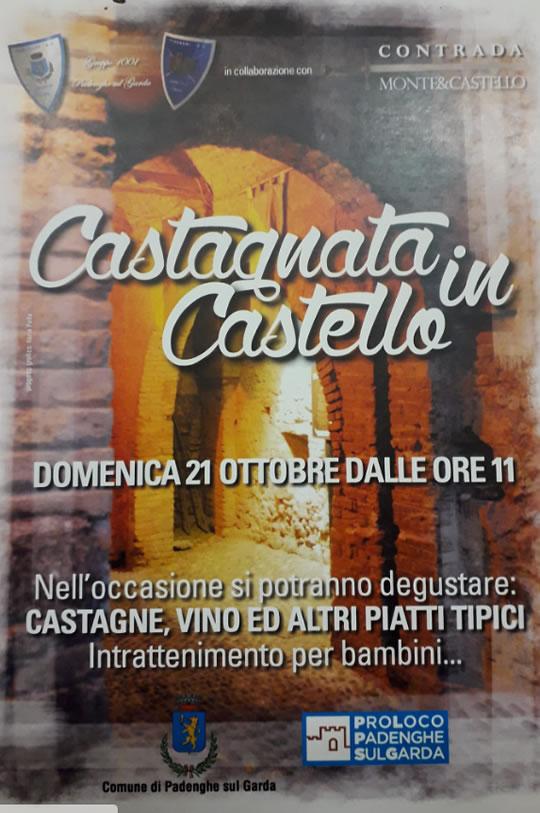 Castagnata in Castello a Padenghe