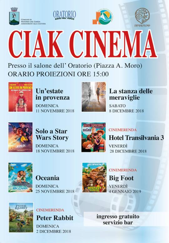 Ciak Cinema a Manerba del Garda