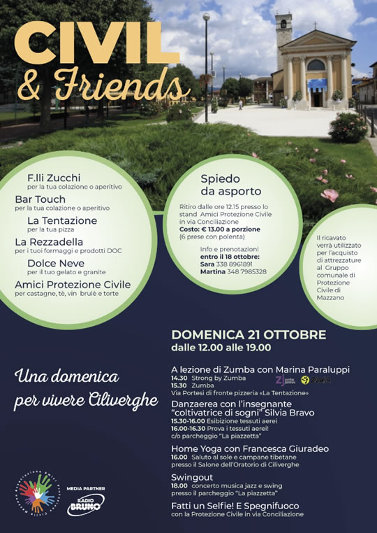 Civil & Friends a Mazzano