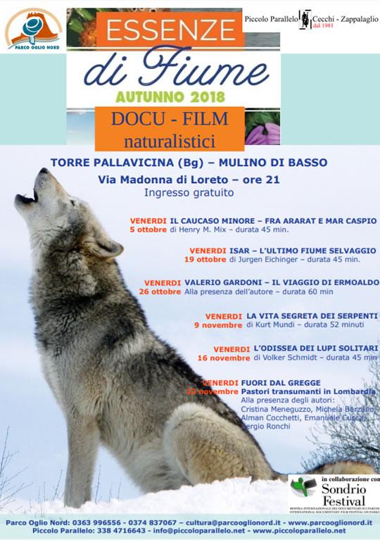 Docu Film Naturalistici a Torre Pallavicina BG