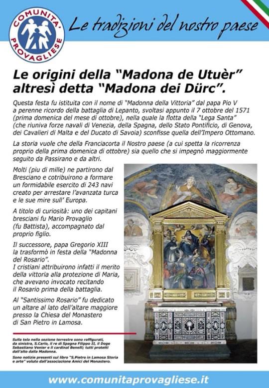 Festa Tradizionale della Madonna dei Durc a Passirano
