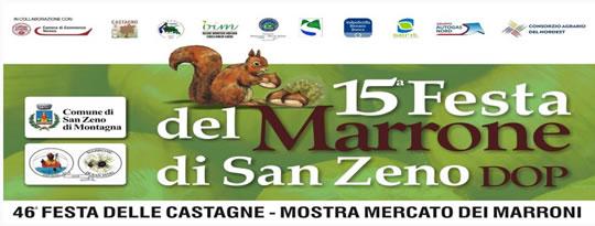 Festa del Marrone a San Zeno di Montagna VR