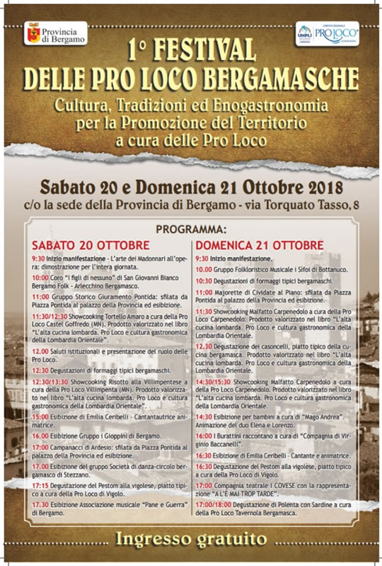 Festival delle Pro Loco Bergamasche