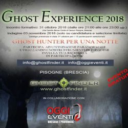 Ghost Experience a Pisogne