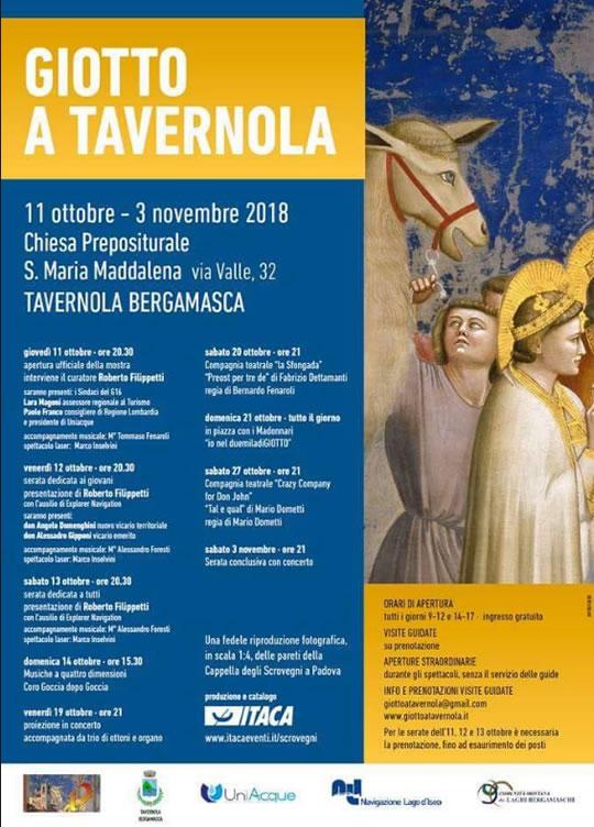 Giotto a Tavernola Bergamasca