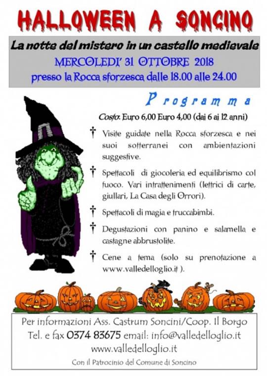 Halloween a Soncino CR