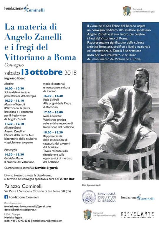 La Materia di Angelo Zanelli e i fregi del Vittoriano a Roma San Felice del Benaco