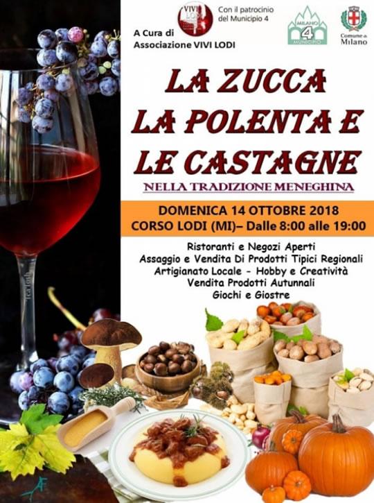 La Zucca La Polenta e Le Castagne a Milano