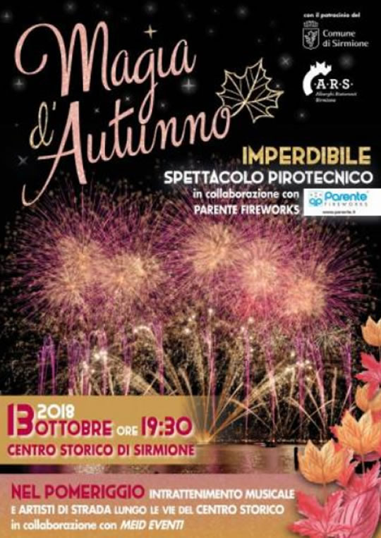 Magia d'Autunno a Sirmione