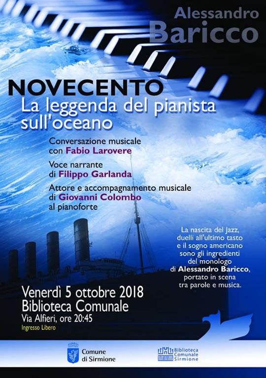 Novecento La Leggenda del Pianista sull'Oceano a Sirmione