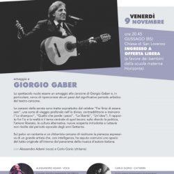 Omaggio a Giorgio Gaber a Gussago